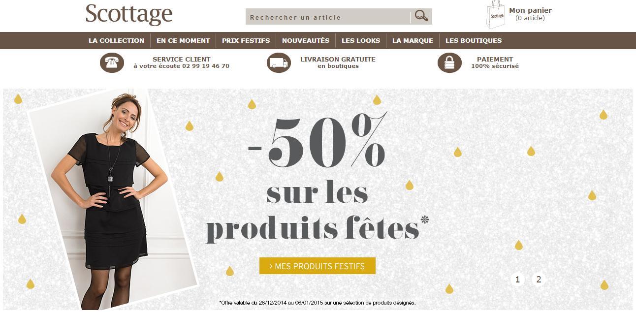 Scottage.fr : vêtements prêt-à-porter féminin